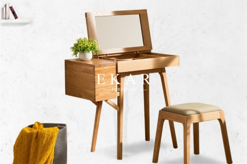 Italian Furniture Latest Model Wooden Dressing Table With Modern Designs