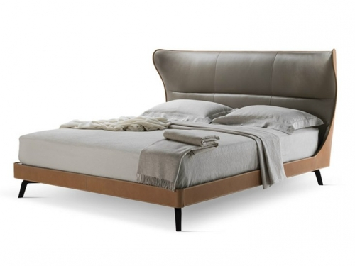 Bed Room Furniture Upholstered Full Size Bed Frame With Headboard