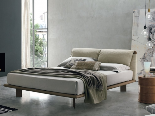 Full Leather King Size Bed Frame