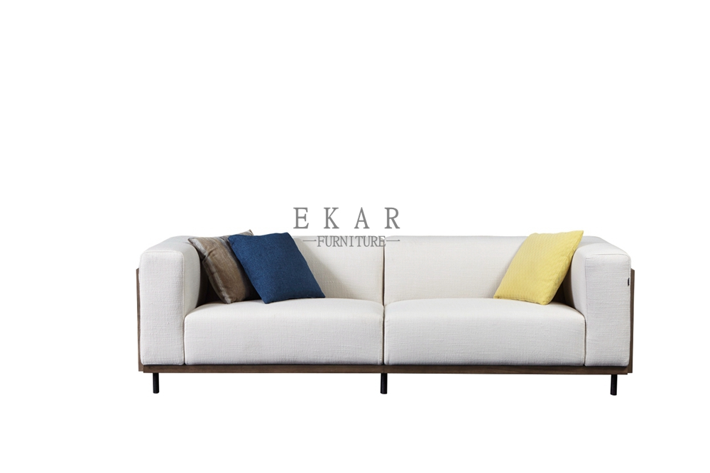Bon Changeable Fabric Furniture And Couch White Settee Sofa