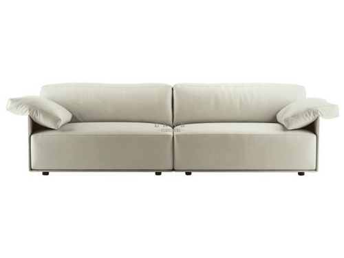 Casual Couch Cream Sofa For Sale