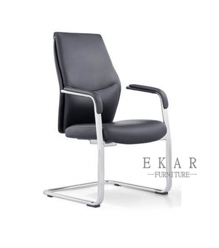 Black Modern Office Chair For Meeting Rooms
