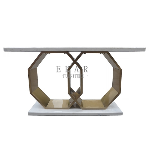 Brass Large Table Entryway Console