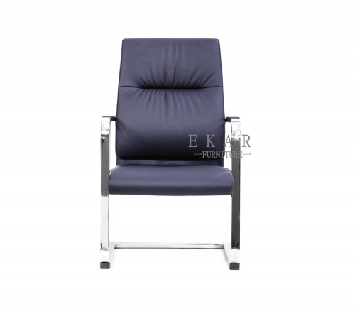 Latest Furniture Blue Conference Office Guest Chair -- Ekar Furniture