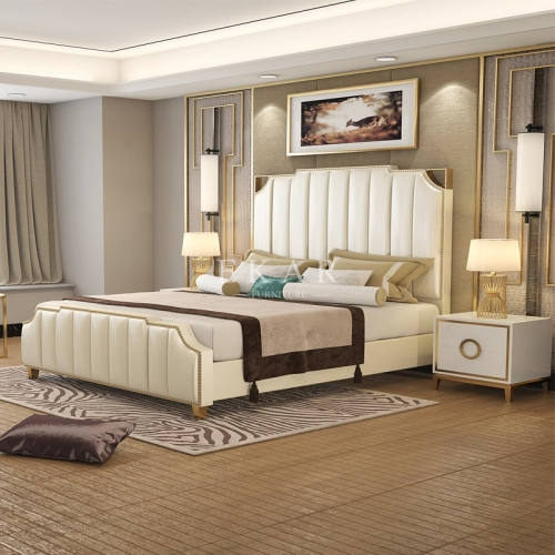 Upholstered Headboard Bedroom Sets king Size Bed
