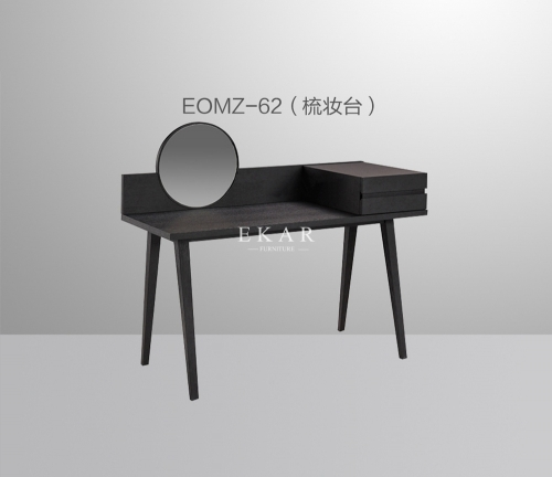 Modern New Design With Round Mirror Dressing Table