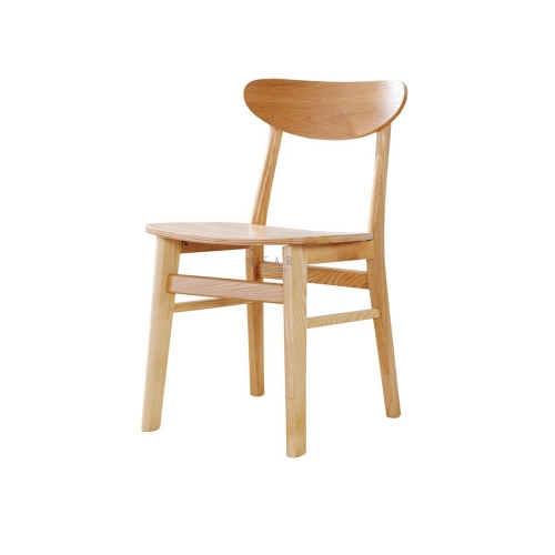 Contemporary Design Ash Wood Restaurant Dining Chair